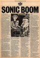 Clark Sorley, The List, Sonic Boom